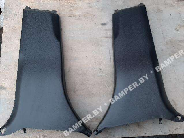 Обшивка стойки центральной левой (накладка) Mercedes GLS X166 A1666902525